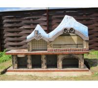 Печь барбекю №25 Гора Арарат