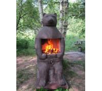 Печь барбекю №23 Медведь